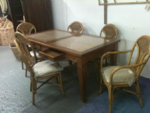 Vienna 6 Seater Table & Chairs